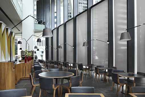 Kết quả hình ảnh cho blinds for restaurant